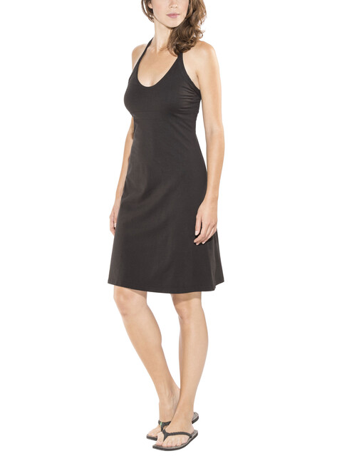 Patagonia Iliana Halter jurk Dames zwart
